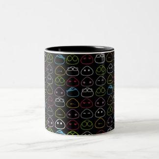 Japanese Onigiri Fluo Pattern Mug