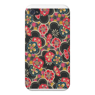 Japanese Origami Kimono Flower Japan Tokyo Kyoto Cover For iPhone 4