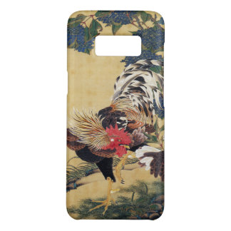 Japanese painting Rooster Chinese Astrology Sign Case-Mate Samsung Galaxy S8 Case