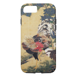 Japanese painting Rooster Chinese Astrology Sign iPhone 7 Case