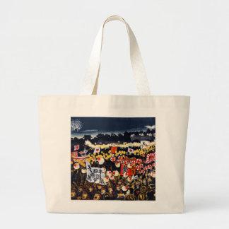 Japanese Parade Tote Bags