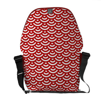Japanese pattern commuter bag