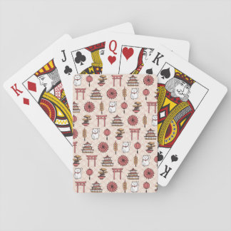 Japanese Pattern Playing Cards