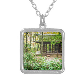 Japanese Pavilion in the Forest Custom Necklace