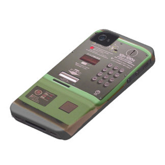 Japanese Payphone Case-Mate iPhone 4 Cases