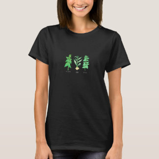 Japanese Plant Pixel T-shirt