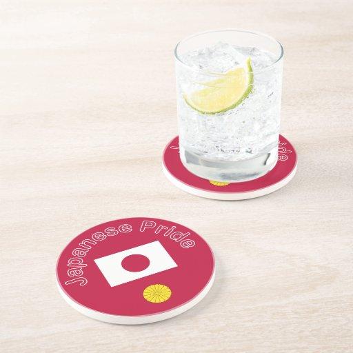 Japanese Pride Beverage Coaster