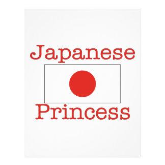 Japanese Princess Flyer Design