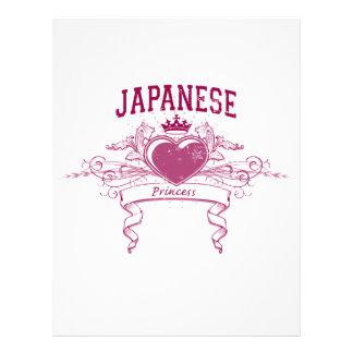 Japanese Princess Custom Flyer