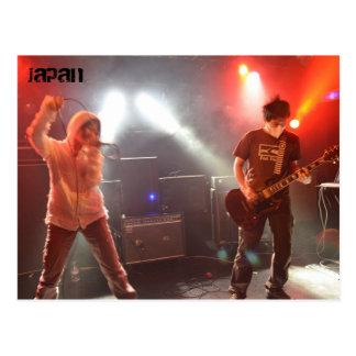Japanese Punk Band Postcard