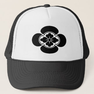 Japanese quince trucker hat