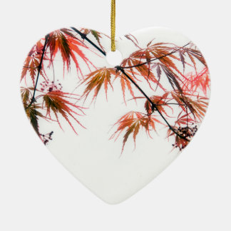 Japanese Red Maple Art Photography Christmas Ornament