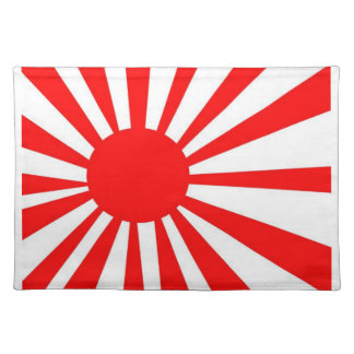Japanese Rising Sun Flag Placemat