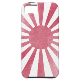Japanese Rising Sun Flag (lightly distressed) Tough iPhone 5 Case