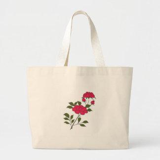 Japanese Roses Jumbo Tote Bag