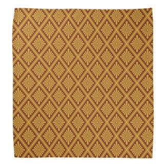 Japanese Rosette Lozenges Pattern Bandana