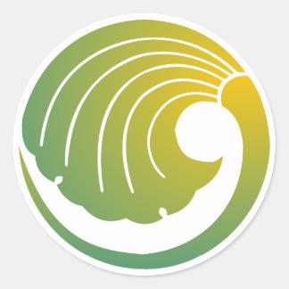 Japanese Round Sticker