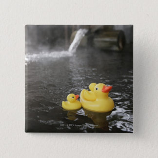 Japanese Rubber Duckies 15 Cm Square Badge