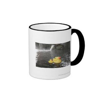 Japanese Rubber Duckies Ringer Mug