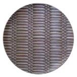 japanese rush carpet dinner plates