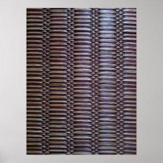 japanese rush carpet poster