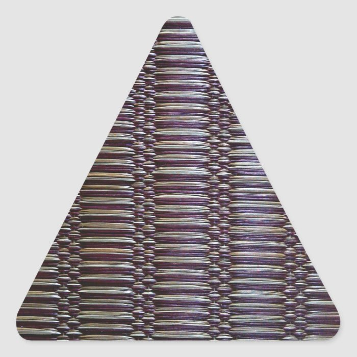 japanese rush carpet triangle sticker