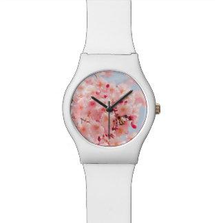 Japanese Sakura. Cherry Blossoms. Wristwatches