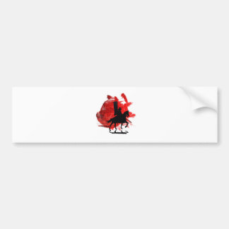 Japanese Samurai Bumper Sticker