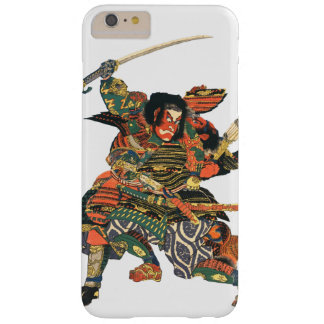 Japanese Samurai Fighting Barely There iPhone 6 Plus Case