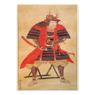 Japanese Samurai Magnetic Card