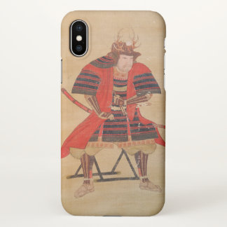 Japanese Samurai (Vintage Japanese Print) iPhone X Case