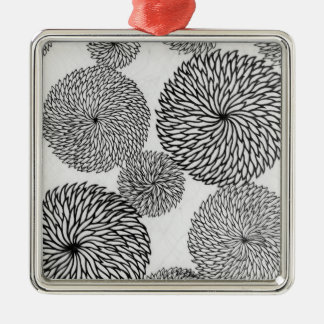 Japanese School's Chrysanthemums Christmas Ornament