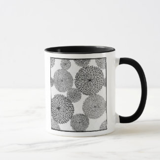 Japanese School's Chrysanthemums Mug