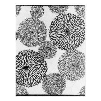 Japanese School's Chrysanthemums Postcard