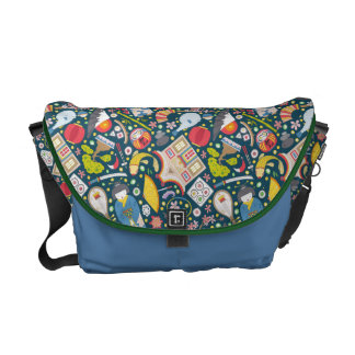 Japanese Seamless Pattern Commuter Bags
