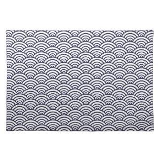 Japanese Seikaiha pattern Placemat