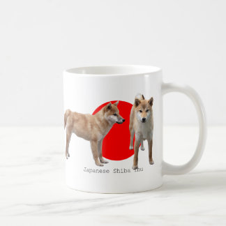 """Japanese Shiba Inu"" Coffee Mug"