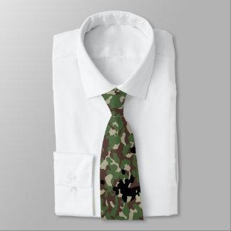 Japanese Shin Meisai Camo Tie
