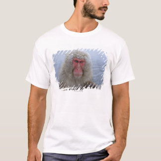 Japanese Snow Monkey in hotspring T-Shirt