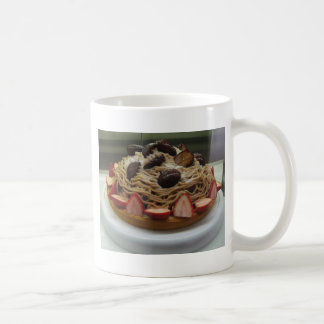 Japanese Spaghetti & Strawberry Cake Coffee Mugs