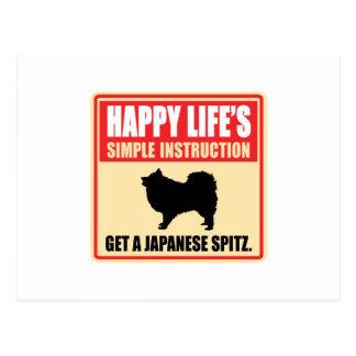 Japanese Spitz Postcards