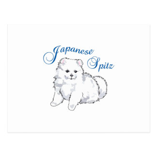 JAPANESE SPITZ POST CARDS