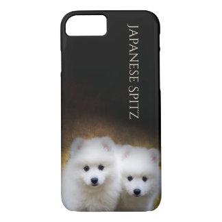 Japanese Spitz Puppies Phone case