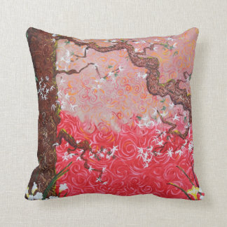 """Japanese Spring"" pillow"