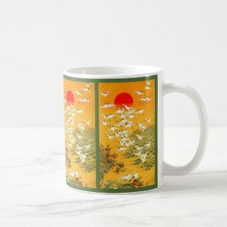 Japanese Storks image Coffee Mug