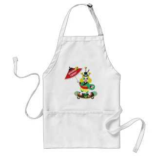 Japanese-style clown colorful (JAPANESE STYLE PIER Standard Apron