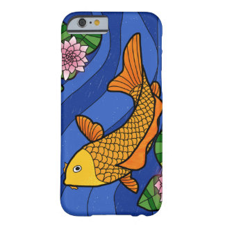 Japanese Style Koi In Water With Lillies Barely There iPhone 6 Case