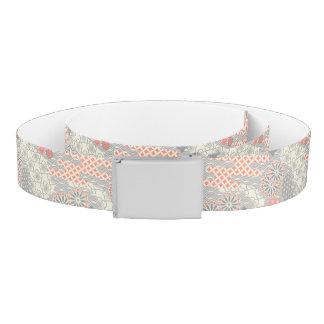 Japanese style pattern. Illustration. Belt