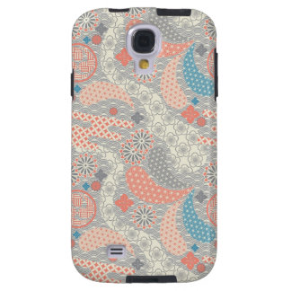 Japanese style pattern. Illustration. Galaxy S4 Case