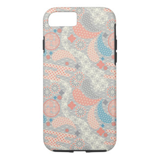 Japanese style pattern. Illustration. iPhone 8/7 Case